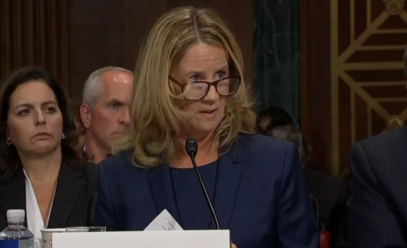 On Thursday, Dr. Christine Blasey Ford testified for almost four hours, detailing alleged abuse by judge Brett Kavanaugh.