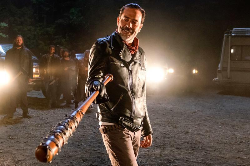 Jeffrey Dean Morgan as Negan on 'The Walking Dead.'