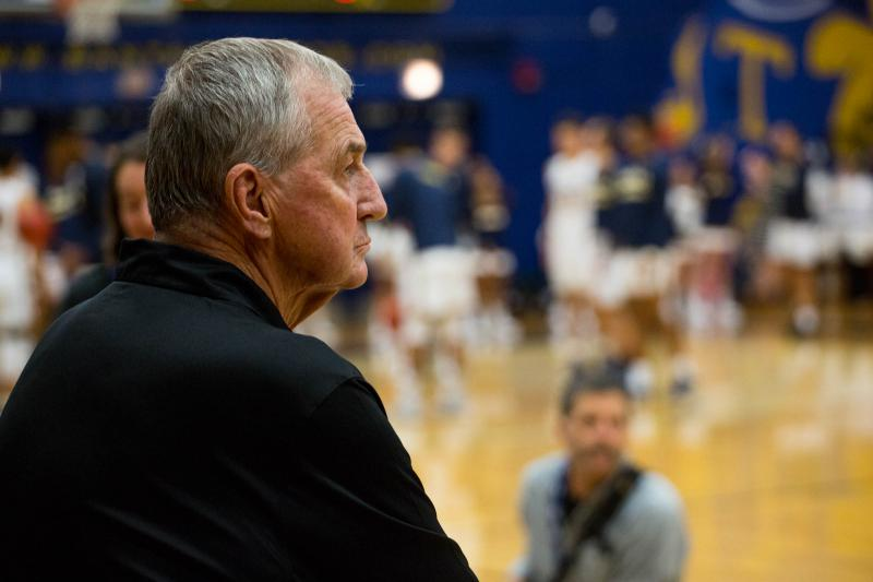 Jim Calhoun retired from the University of Connecticut in 2012, but has now returned to the game as the head coach of a NCAA Division III program in West Hartford, Conn.