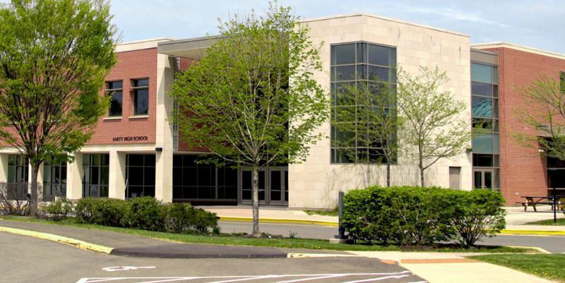 Amity High School in Woodbridge, Connecticut.