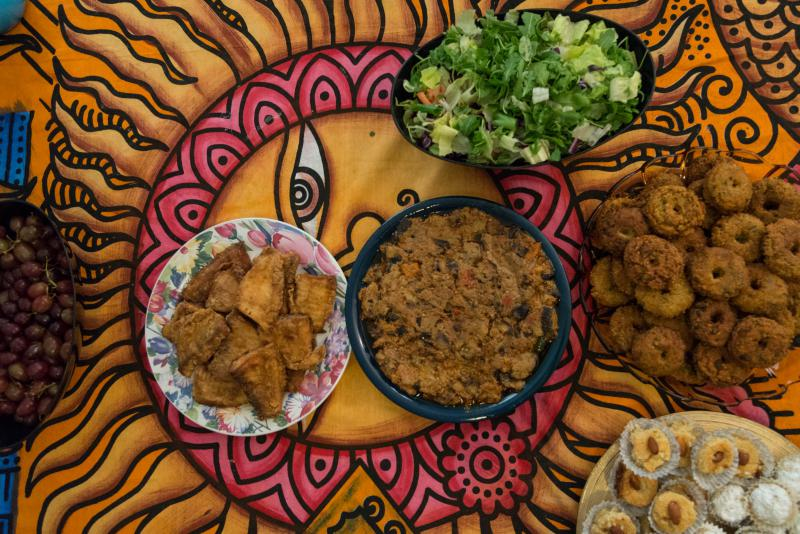 Traditional Sudanese dishes