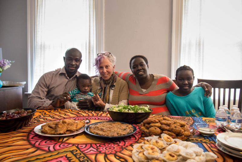Fouad Dagoum, Kutti Dagoum, Bonnie Bayuk, Azhar Ahmed, and Lames Abdelrahman