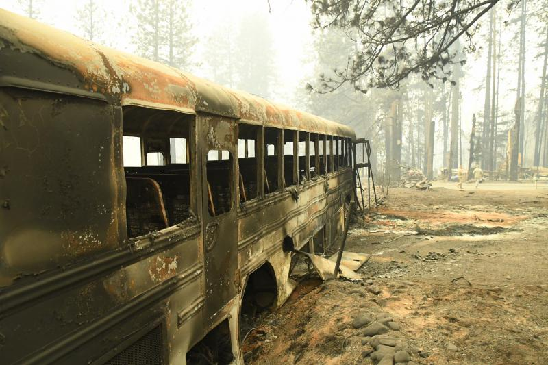 Aftermath of the Camp Fire in Paradise, Calif.