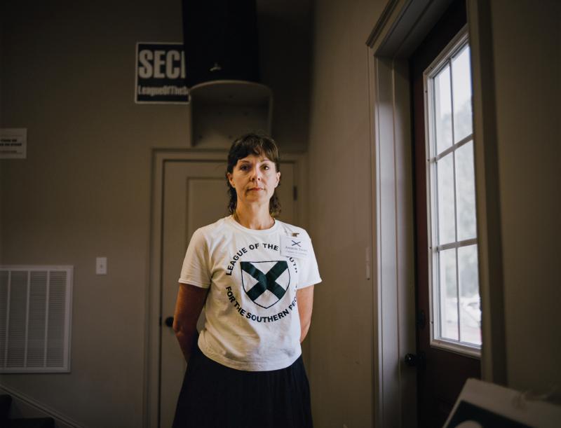 """Amanda, """"Den mother,"""" League of the South"""