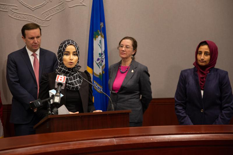 Fatimah Aulaqi, a Yemeni-American from Waterbury, has raised over $600,000 for Yemeni civilians. But her and the organization she works with, Yemen Aid, would like to raise at least $1 million.