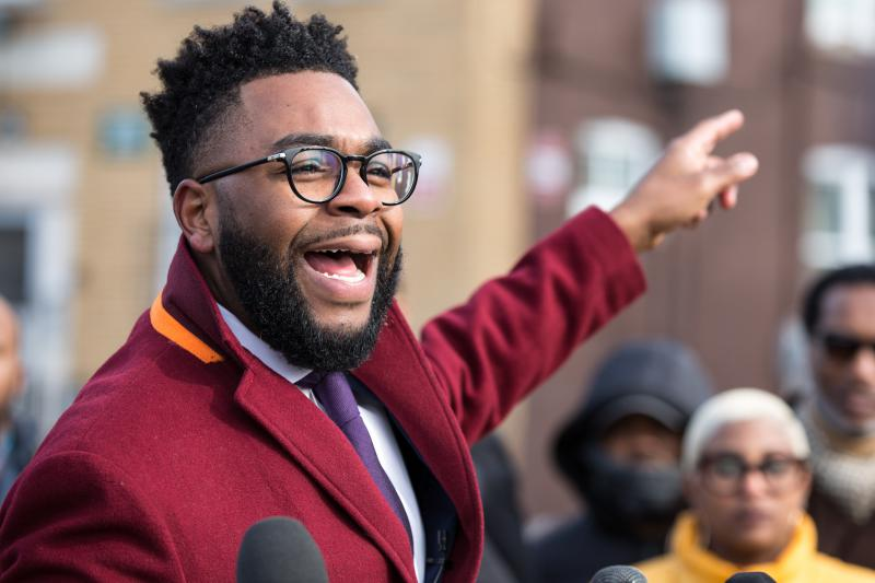 Brandon McGee, a Democratic State Representative out of Hartford, kickstarted his campaign for mayor of Hartford on January 28, 2019 with an announcement from the city's north end.