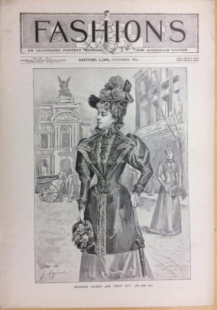 """Fashions,"" published by Brown, Thomson & Co."