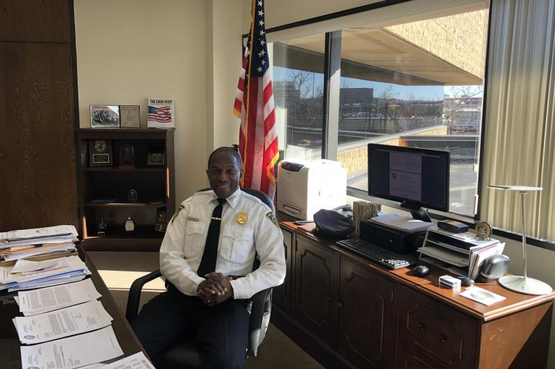 Outgoing New Haven Police Chief Anthony Campbell