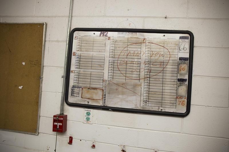 The interior of the Bergin Correctional Facility.