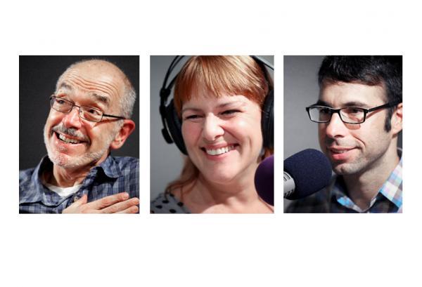 Wally Lamb, Joan Holliday, Eric Danton.