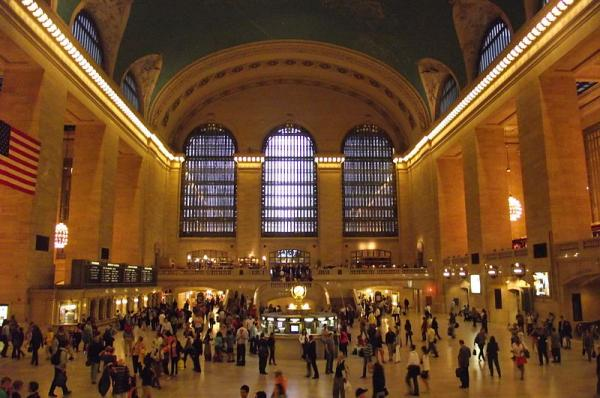Grand Central Station in New York City.