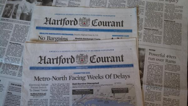 <em>Hartford Courant</em> employees may face another round of layoffs.