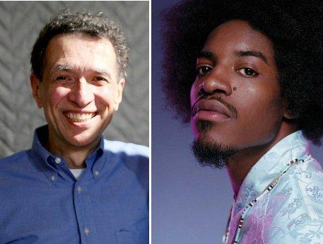 NPR's Frank Tavares and Outkast's André 3000.
