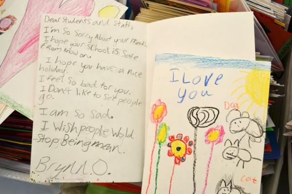 A child's letter to Newtown.