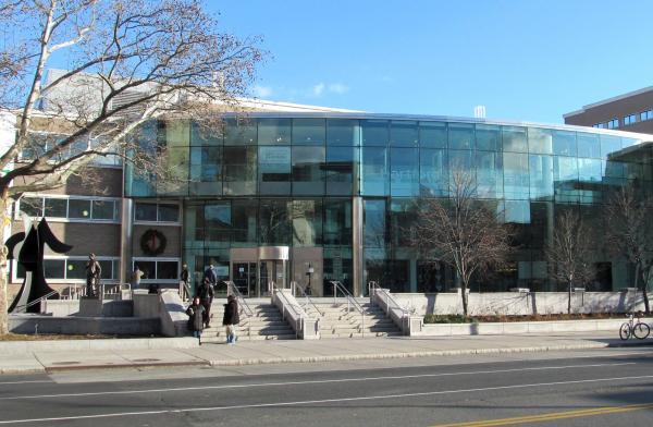 The downtown Hartford Public Library is at 500 Main Street.