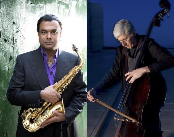 Rudresh Mahanthappa performs Friday with bassist Mark Dresser as part of a quintet at Firehouse 12.
