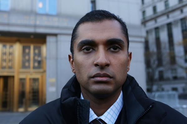 Matthew Martoma in November 2012, outside a New York federal court.