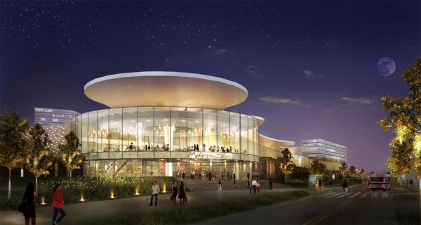 Mohegan Sun's proposed resort casino for Revere, Massachusetts.