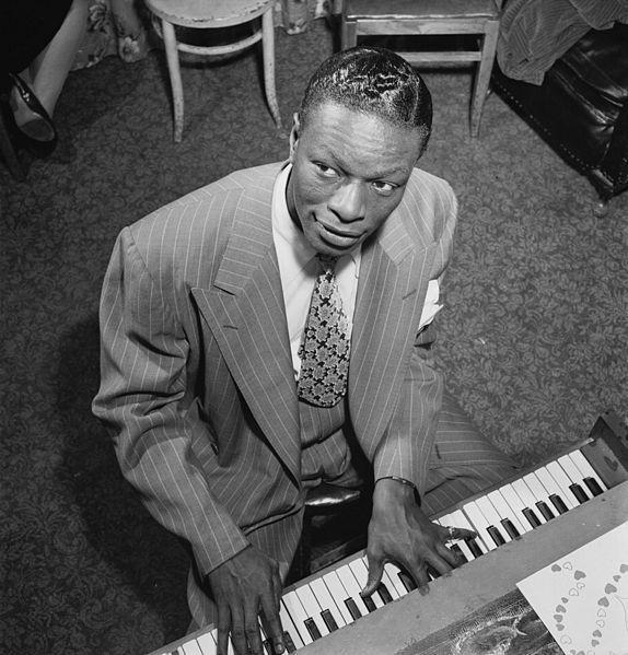 Nat King Cole in New York City in 1947.