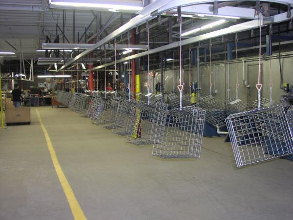 The Acme Wire shop floor in Mystic.