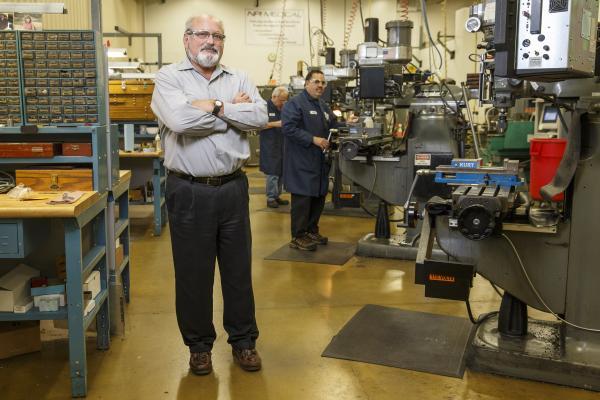 David Kelly, General Manager, at NPI Medical in Ansonia.