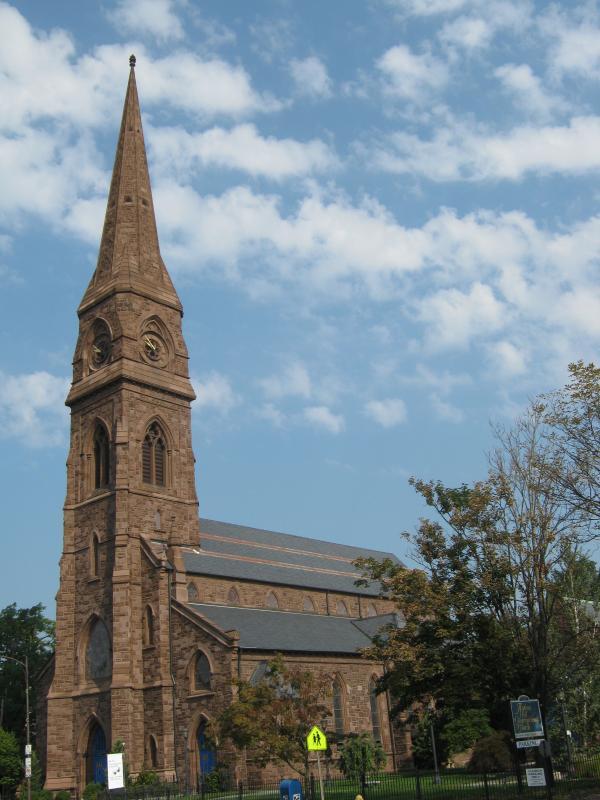 Asylum Hill Congregational Church in Hartford.