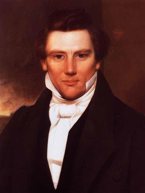 Joseph Smith Jr., Founder of the Latter Day Saint Movement.