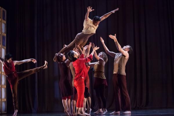 "Margaret Jenkins Dance Company in ""Times Bones."""