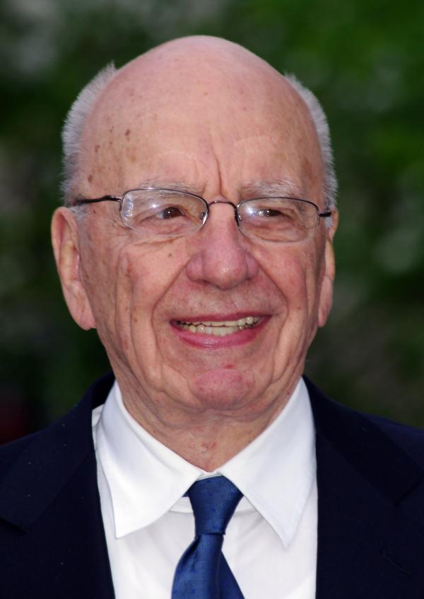 Rupert Murdoch at the Vanity Fair party celebrating the 10th anniversary of the Tribeca Film Festival