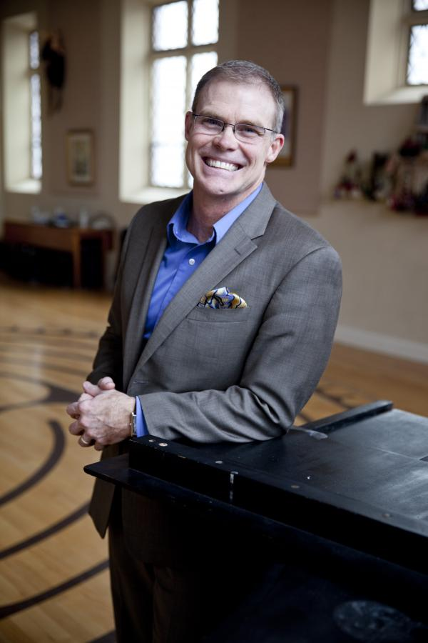 Steve Mitchell at Asylum Hill Congregational Church.