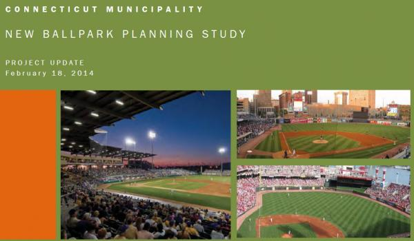 "Brailsford and Dunleavy gave Hartford Mayor Segarra a ""ballpark planning study project update"" dated February 18, 2014."