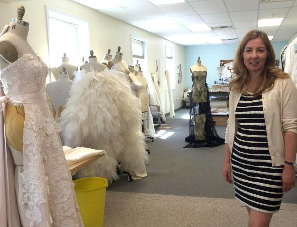 Callie Tein, designer and owner of Modern Trousseau in Woodbridge, is expanding across the U.S. and abroad.