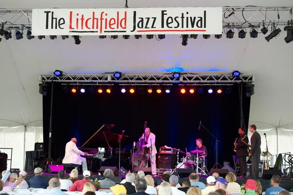 The main stage performance at the 2013 Litchfield Jazz Festival.