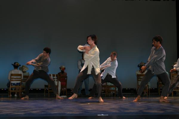 "Dancers perform ""It's a Sin to Kill a Mockingbird"" at the Big Read in Waterbury."