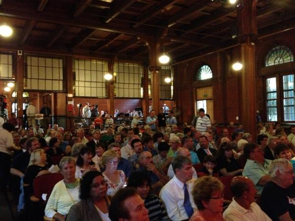 About 400 people were in the audience for the event at Slater Auditorium at Norwich Free Academy.