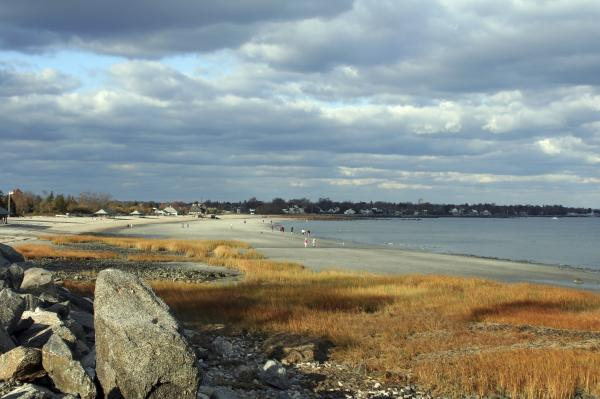 """Connecticut's shoreline, where someone might be planning a barbeque, and wondering, """"Will it rain?"""""""