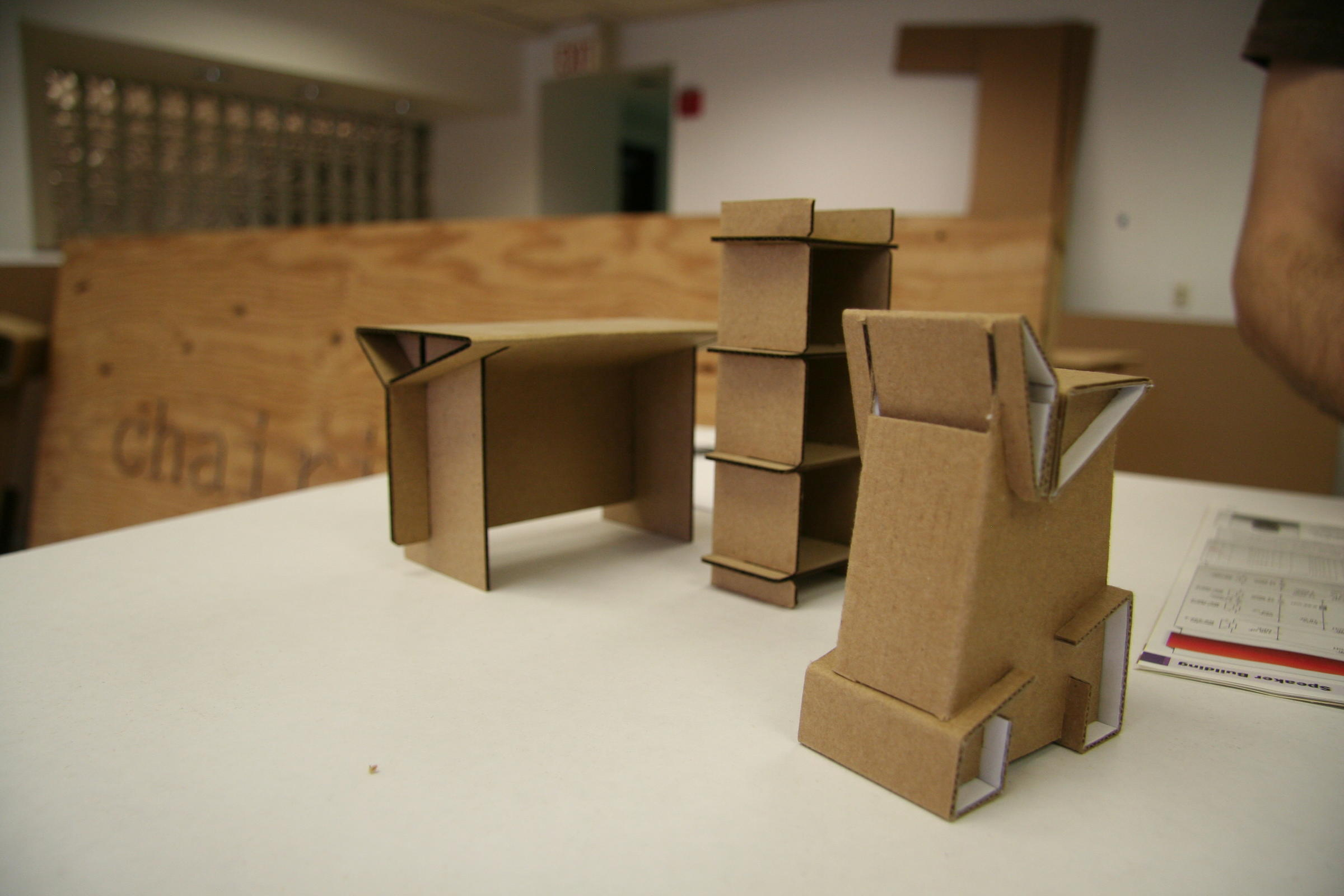 New Haven Cardboard Furniture Company Goes Beyond One Man Production Connecticut Public Radio
