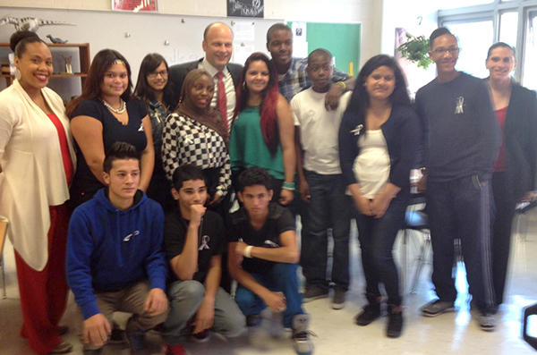 How One New Haven High School Supports Immigrant Students   WNPR News
