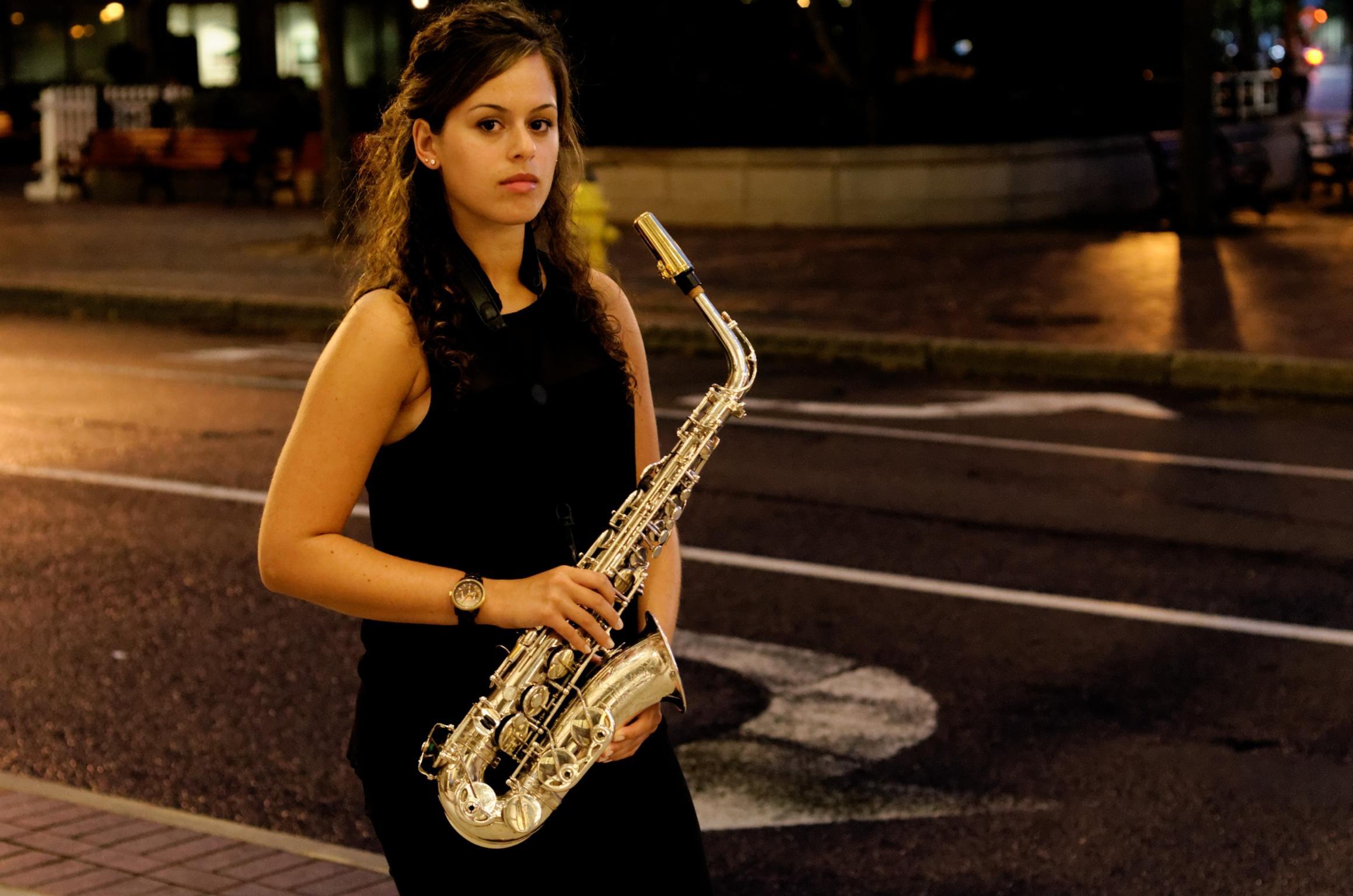 rising young saxophonist alexa tarantino headlines at baby grand