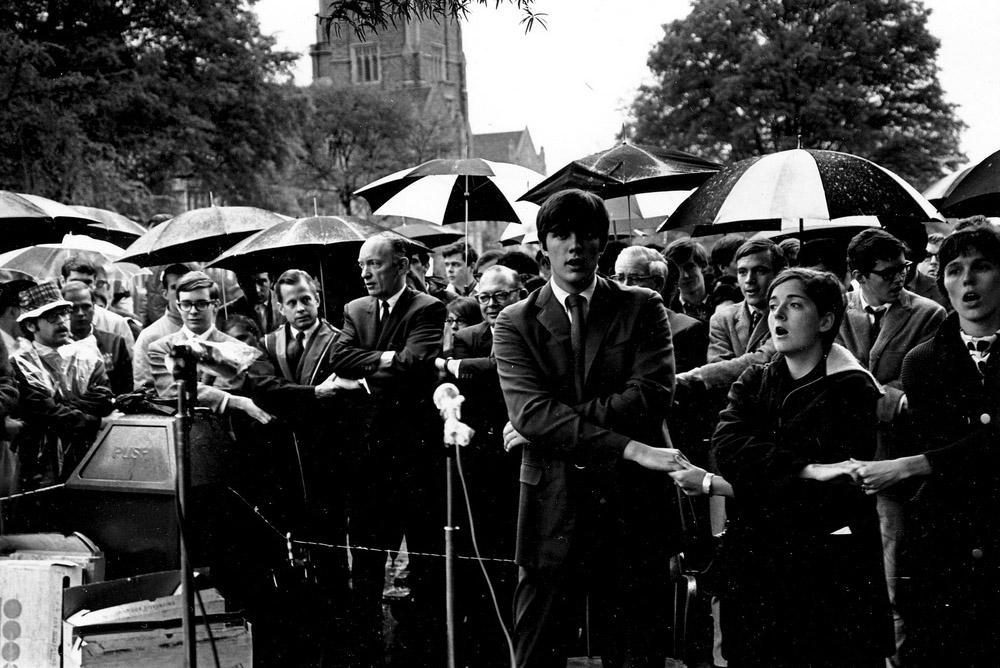 Image result for 1968 duke student protest