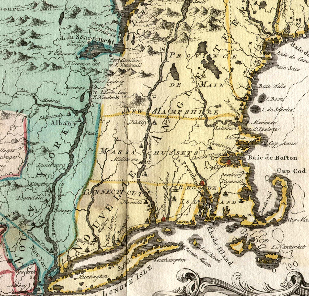Pop quiz name that northeastern governor connecticut public radio a french map of new york and new england date unknown gumiabroncs Images