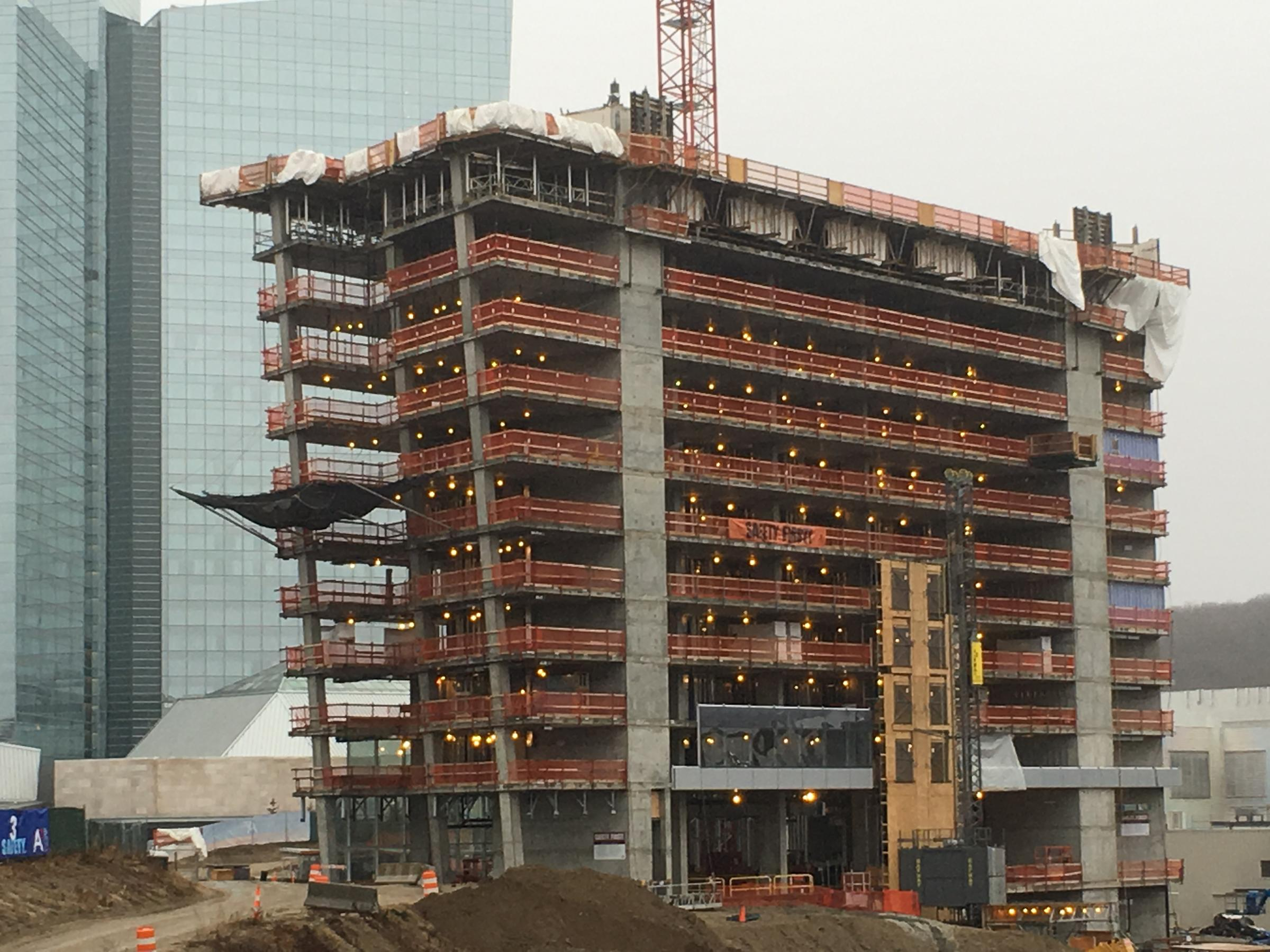 The Structure Of New Earth Hotel At Mohegan Sun