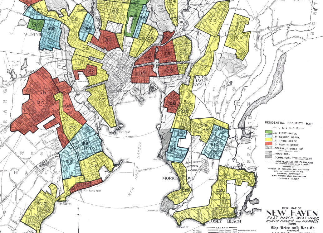 what redlining did to connecticut 39 s impoverished neighborhoods connecticut public radio. Black Bedroom Furniture Sets. Home Design Ideas