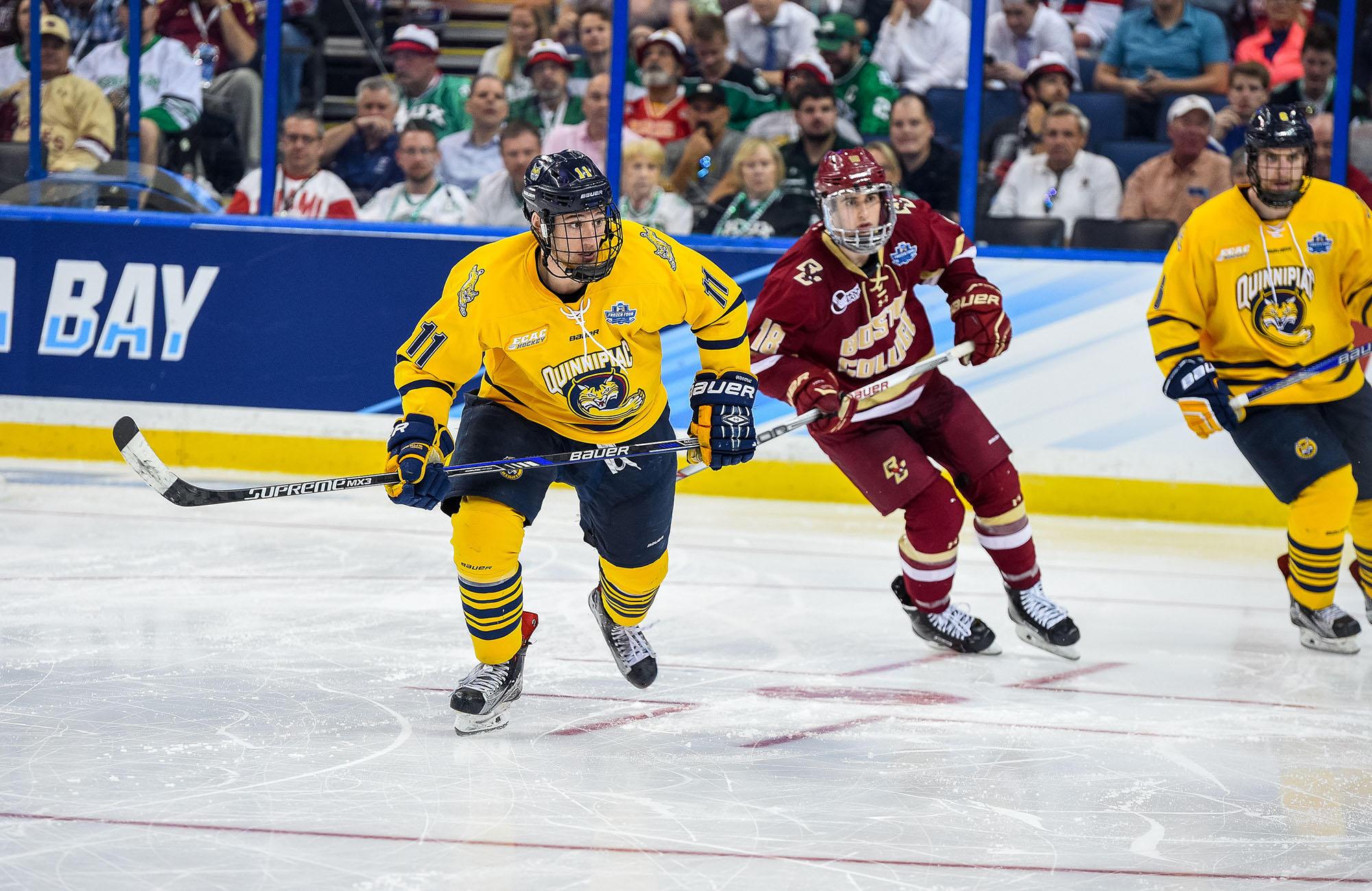 Quinnipiac Tops Boston College to Reach NCAA Hockey Final ...