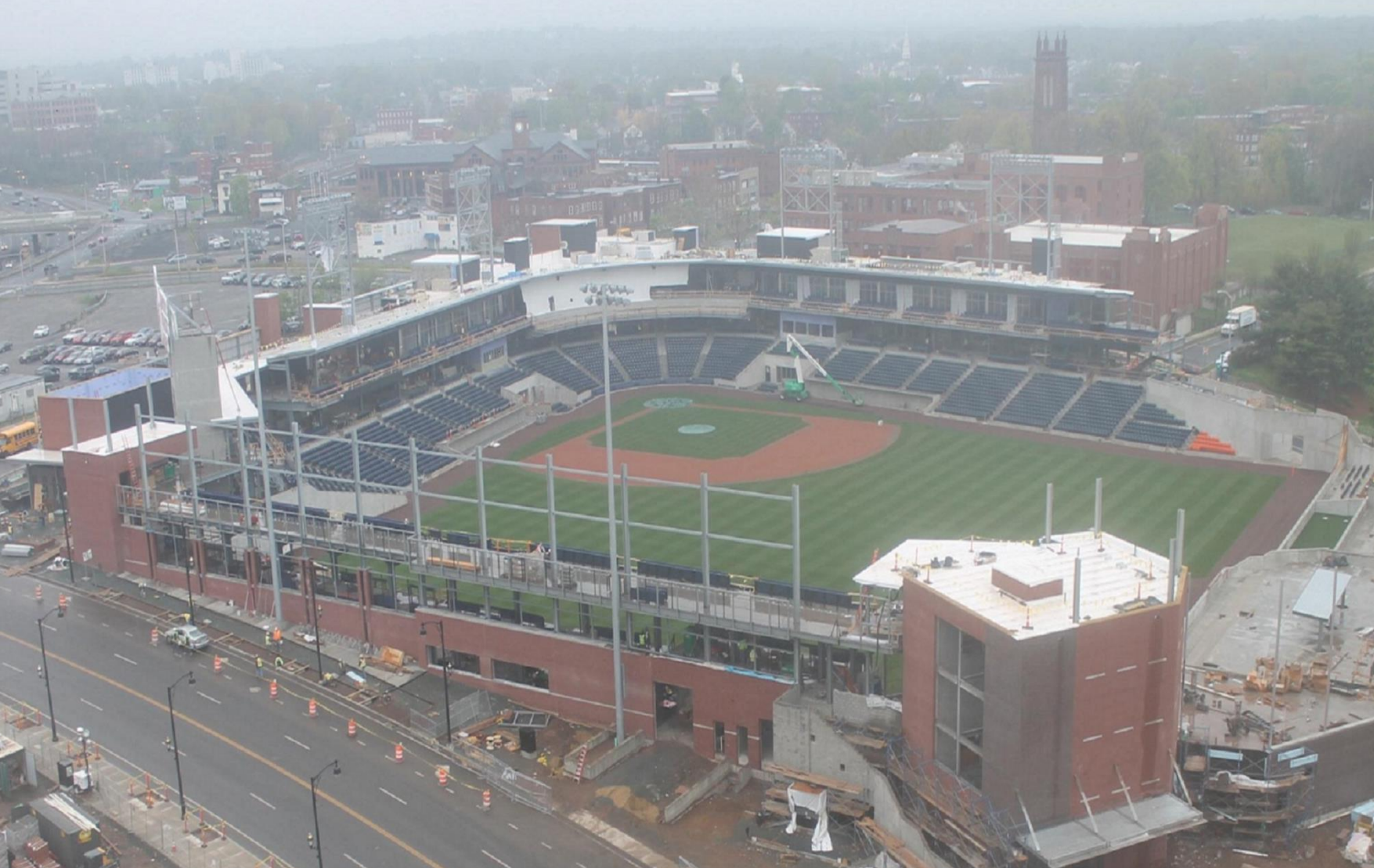 Yard Goats Say Stadium Situation Intolerable Hartford Says Work