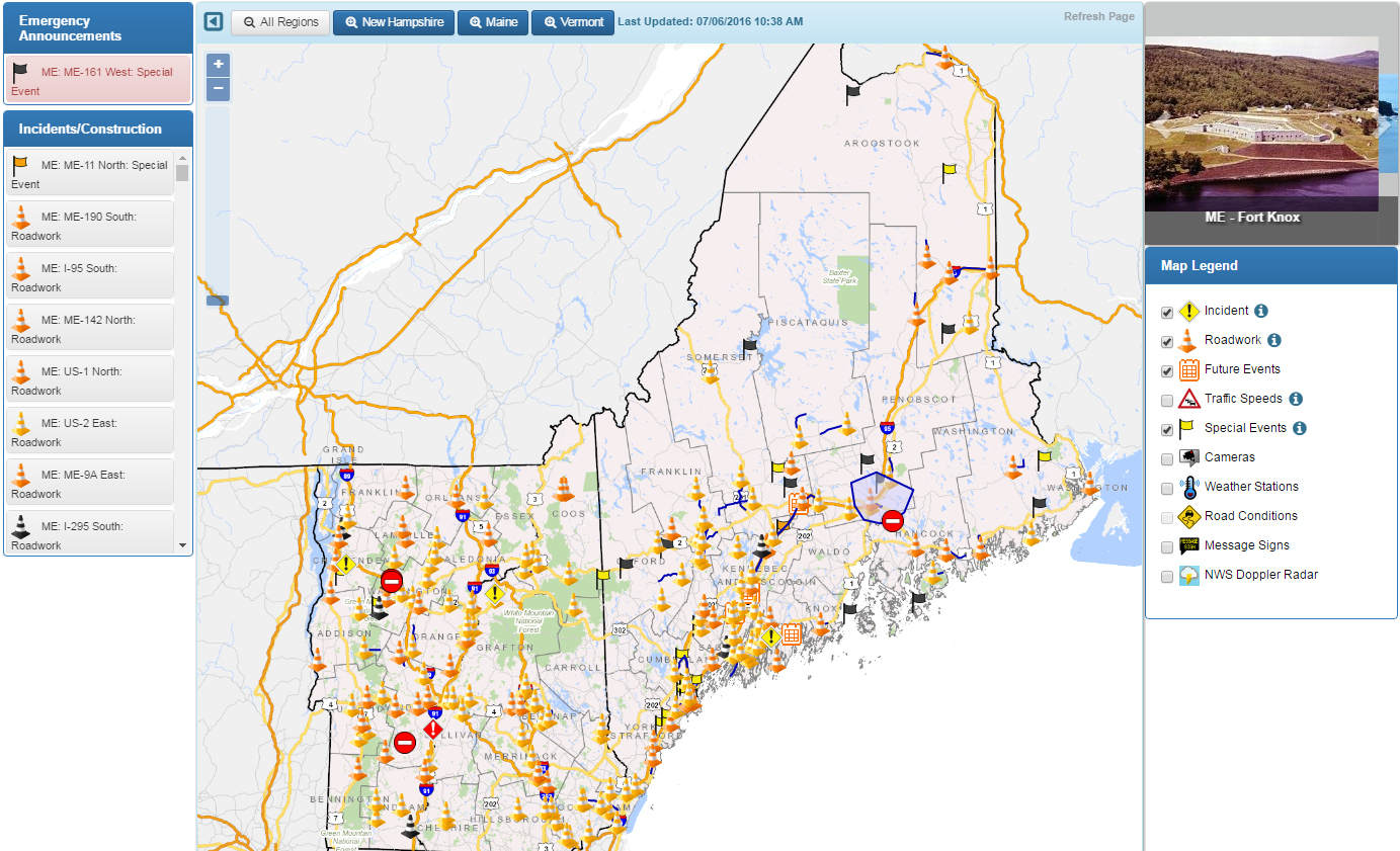 Northern New England Creates Road Portal for Drivers | Connecticut ...