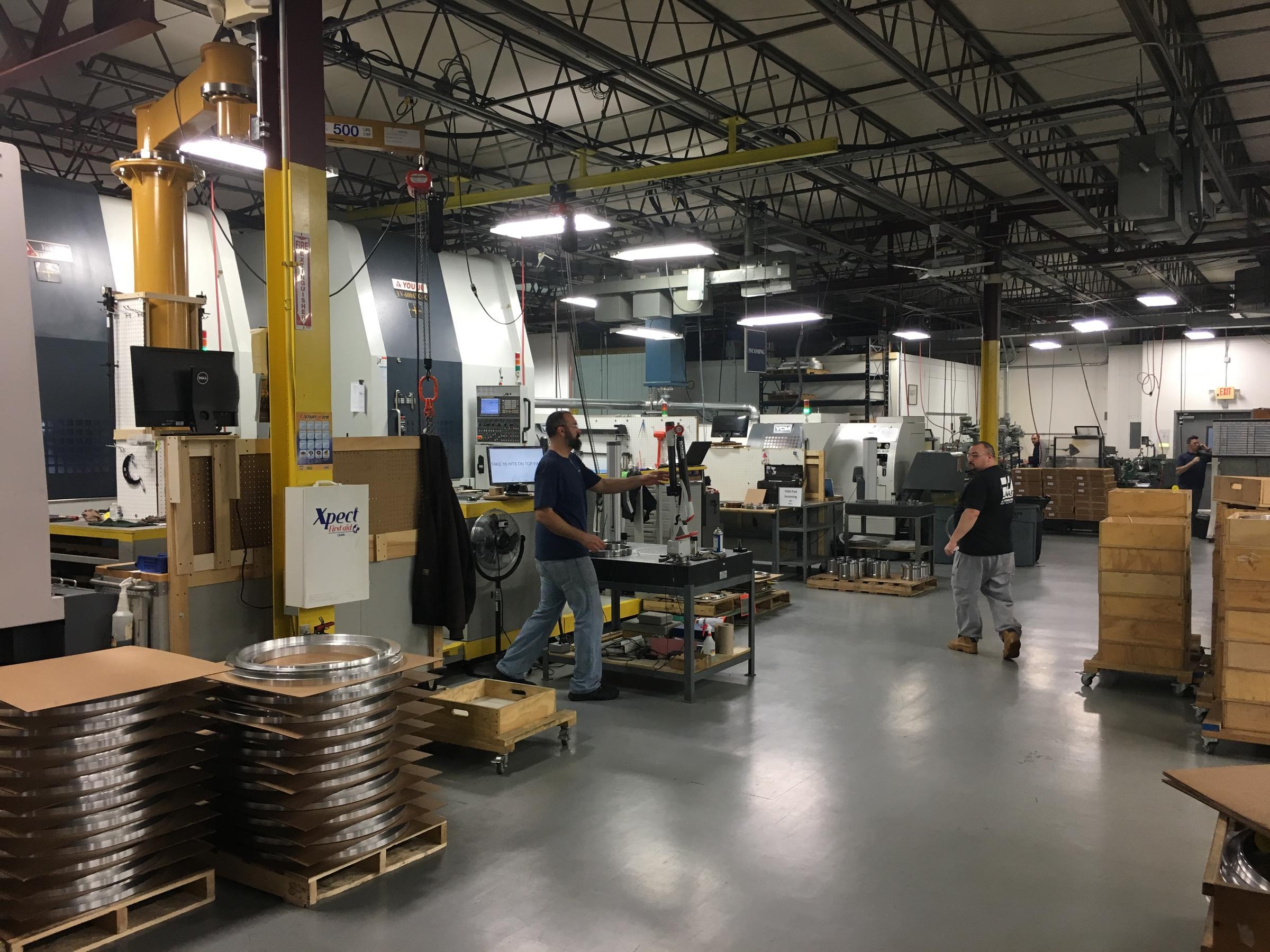 aerospace machine shop