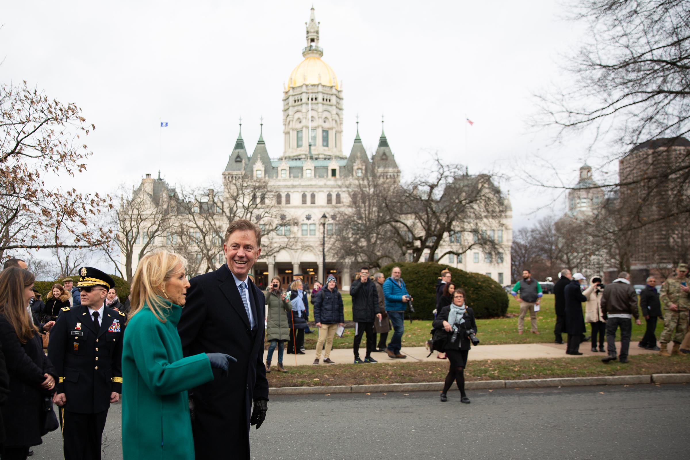 Why Is Connecticut's Inaugural Parade In The Middle Of Winter?