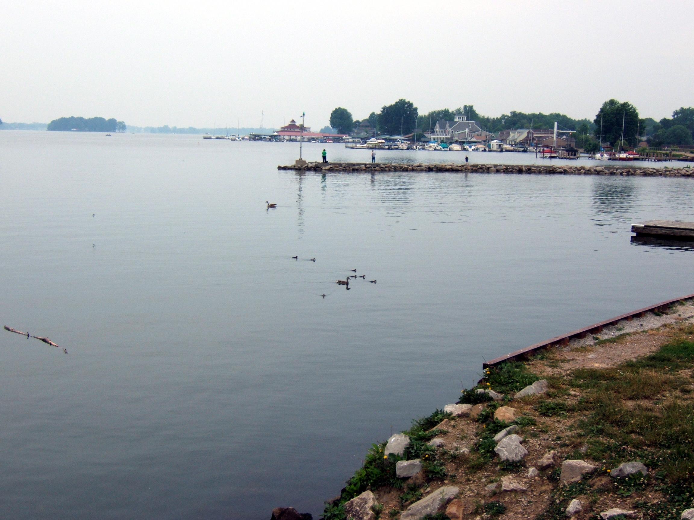 Ohio state report thinglink for Buckeye lake fishing