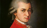Mozart in a red coat